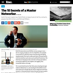 The 10 Secrets of a Master Networker