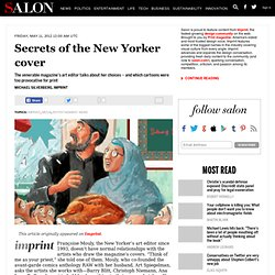 Secrets of the New Yorker cover - Imprint