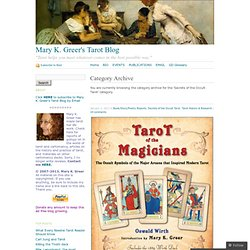 Secrets of the Occult Tarot « Mary K. Greer's Tarot Blog