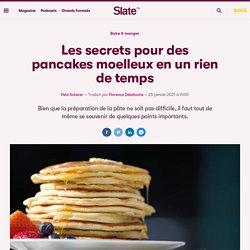Les secrets pour des pancakes moelleux en un rien de temps