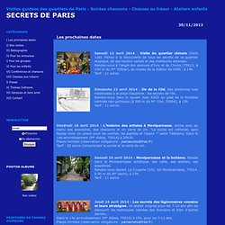 Secrets de paris