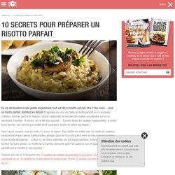 10 secrets pour préparer un risotto parfait