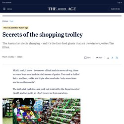 Secrets of the shopping trolley