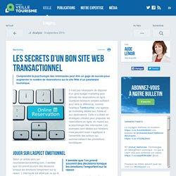 Les secrets d'un bon site Web transactionnel