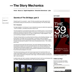 Secrets of The 39 Steps: part 3 « The Story Mechanics