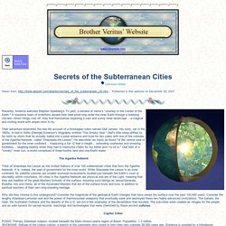 Secrets of the Subterranean Cities
