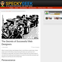 The Secrets of Successful Web Designers