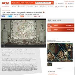 Les petits secrets des grands tableaux - FEMMES D'ALGER ET LEUR APPARTEMENT -1834- EUGÈNE DELACROIX