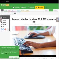 Les secrets des touches F1 à F12 de votre PC