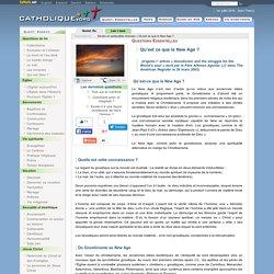 Qu'est ce que le New Age? - Sectes et spiritualités diverses