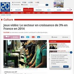 Jeux vidéo: Le secteur en croissance de 3% en France en 2014
