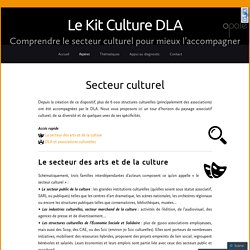 Secteur culturel