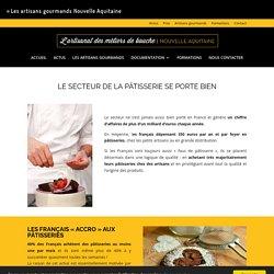 Le secteur de la pâtisserie se porte bien - Les artisans gourmands Nouvelle Aquitaine