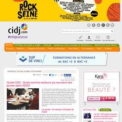 Guide CIDJ : Quels sont les secteurs qui recrutent des jeunes dans l'ESS?