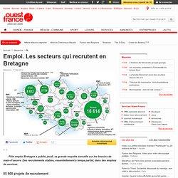 Emploi. Les secteurs qui recrutent en Bretagne - Emploi