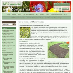 Our Advice Section & Customers Meadow Pictures