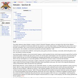 Hekate - Section B - Encyclopedia Thelemica