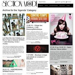 "Section ""Mode / Fashion"" de Touch-arts » Agenda"