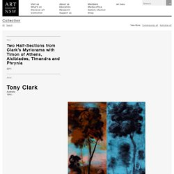 Two Half-Sections from Clark's Myriorama with Timon of Athens, Alcibiades, Timandra and Phrynia, (2011) by Tony Clark