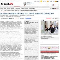 El sector cultural se toma con calma el salto a la web 2.0