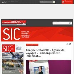 INTRO : Analyse sectorielle « Agence de voyages » - SIC Numérique