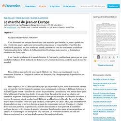 Le marché du jean en Europe - Analyse sectorielle - newlife2018