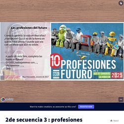 2de secuencia 3 : profesiones del futur by mag.dusud on Genially