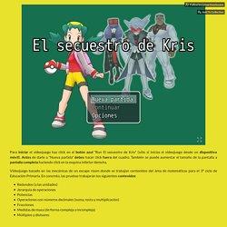 El secuestro de Kris by borjamartinezlozano