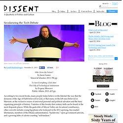 Secularizing the Tech Debate