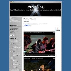 MusicBlog-Aula TIC de Musica en Secundaria [Ayuda: Ir a la categoria Presentacion]