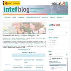 Informe Horizon 2014 Primaria y Secundaria. Tecnologías 1 a 5 años