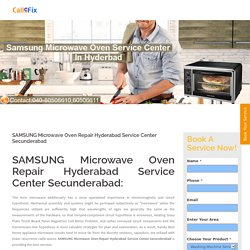 SAMSUNG Microwave Oven Repair Hyderabad Service Center Secunderabad - Home Appliances Service Center : Washing Machine