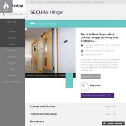 SECURA Hinge - continuous door hinge