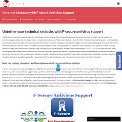 F- Secure Antivirus Support Service I USA : 1-800-294-5907