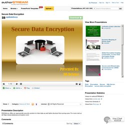 Secure Data Encryption