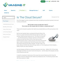 Is The Cloud Secure? - Minneapolis, St Paul, Edina