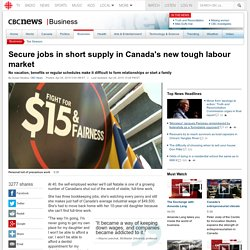 Secure jobs in short supply in Canada's new tough labour market