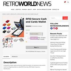 RFID Secure Cash and Cards Wallet – Retroworldnews