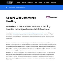 Best Secure WooCommerce Hosting in 2021 - Top 5