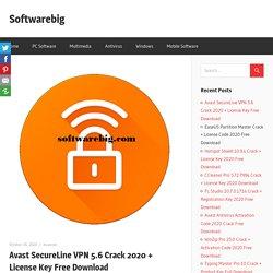 Avast SecureLine VPN License Crack 2020 + Key Free Download
