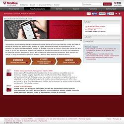 Sécurisation de l'environnement mobile- Gestion des équipements mobiles