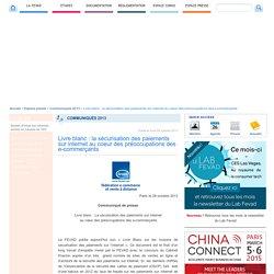 Livre blanc : la sécurisation des paiements sur internet au coeur des préoccupations des e-commerçants