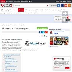 Sécuriser son CMS Wordpress