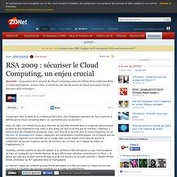 RSA 2009 : sécuriser le Cloud Computing