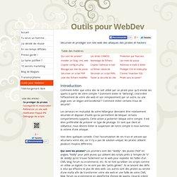 Sécuriser et protéger son site web des attaques des pirates et hackers