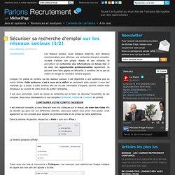 Sécuriser sa recherche d'emploi sur les réseaux sociaux - Michael Page
