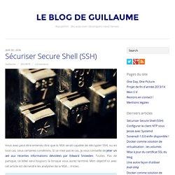 Sécuriser Secure Shell (SSH)