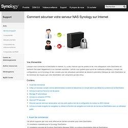 Comment sécuriser votre serveur NAS Synology sur Internet