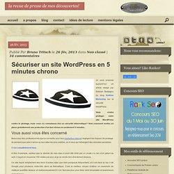 Sécuriser un site WordPress en 5 minutes chronoBruno TRITSCH