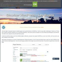 Sécuriser Wordpress - Les plugins